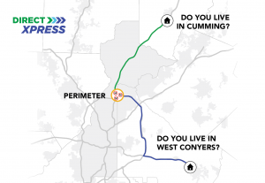 Xpress Route 401 and Xpress Route 428 to Perimeter